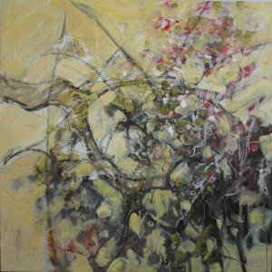 Endurance 40 x 40 inches, oil on canvas Old Apple Tree Series 2013